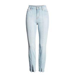 Good Legs High Waist Raw Seam Crop Skinny Jeans 14